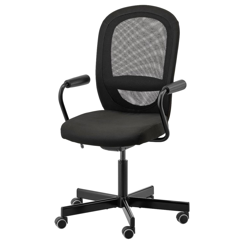 IKEA FLINTAN / NOMINELL Office Chair w/ armrest - image-2