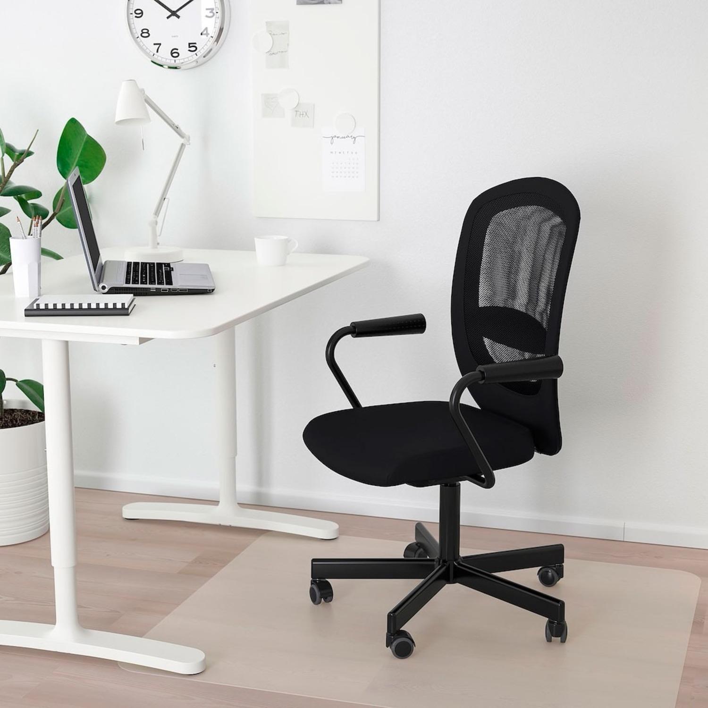 IKEA FLINTAN / NOMINELL Office Chair w/ armrest - image-1