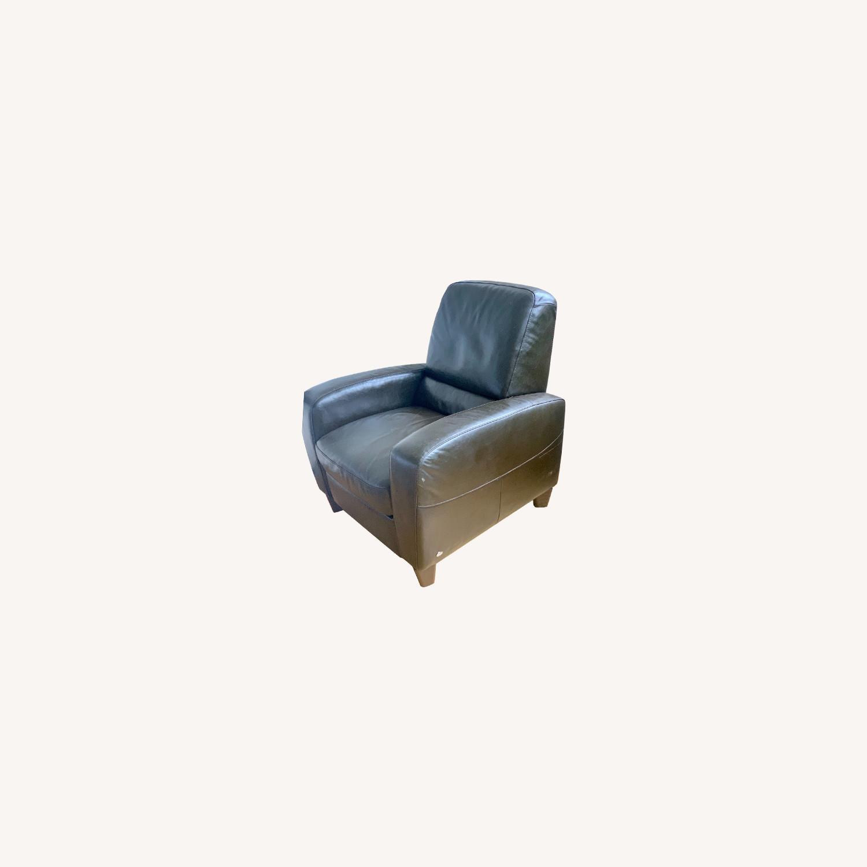 Macy's Eros Italsofa Recliner Chair - image-0