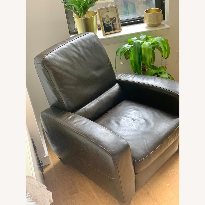 Macy's Eros Italsofa Recliner Chair - image-3