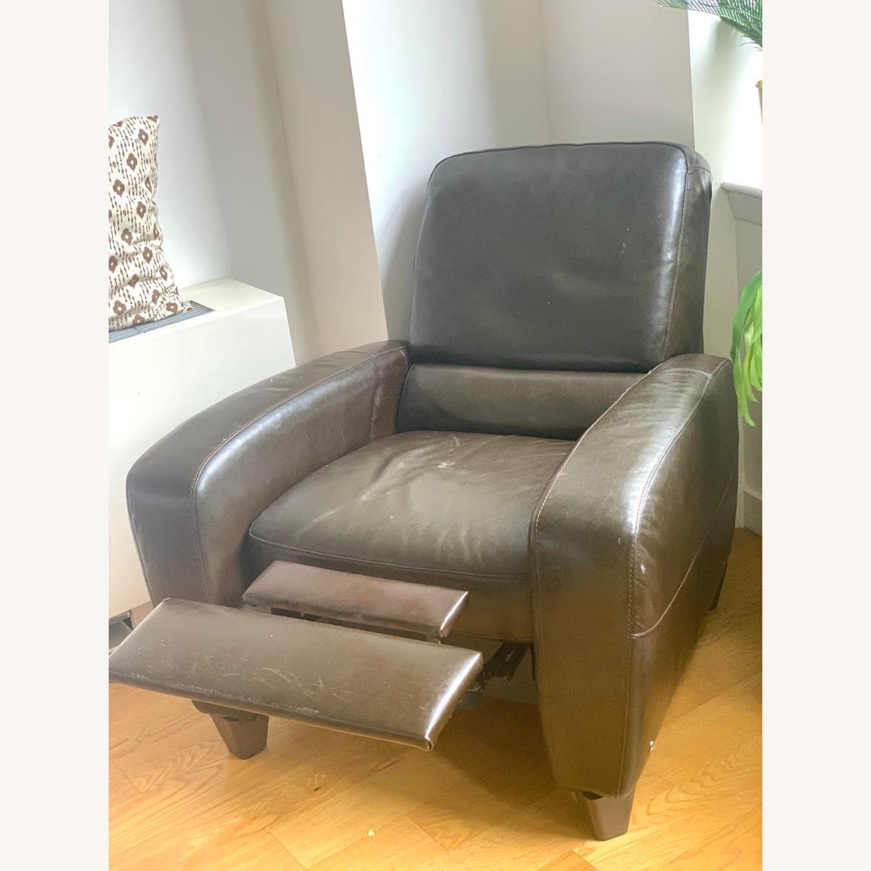 Macy's Eros Italsofa Recliner Chair - image-4