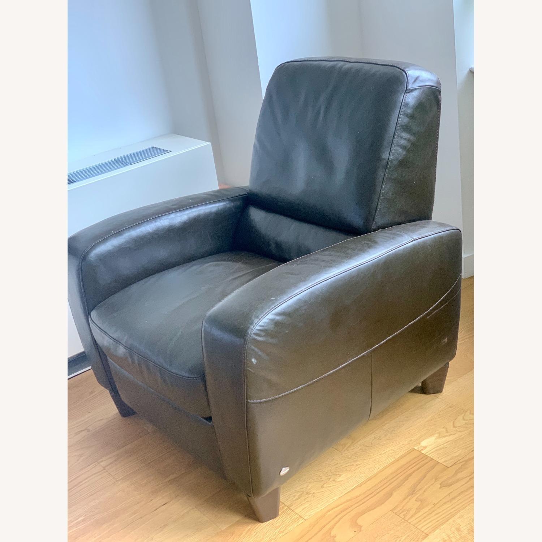 Macy's Eros Italsofa Recliner Chair - image-1