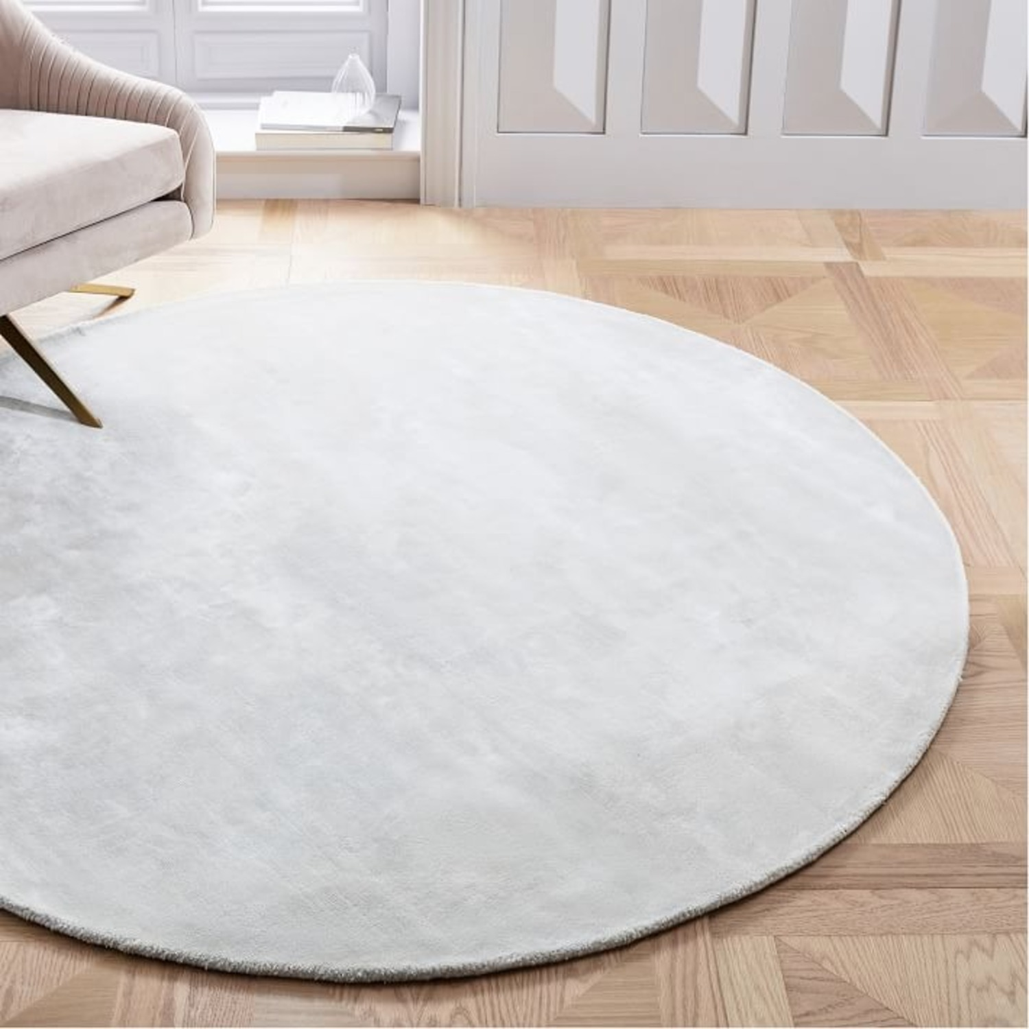 West Elm Lucent Rug, Frost Gray - image-2