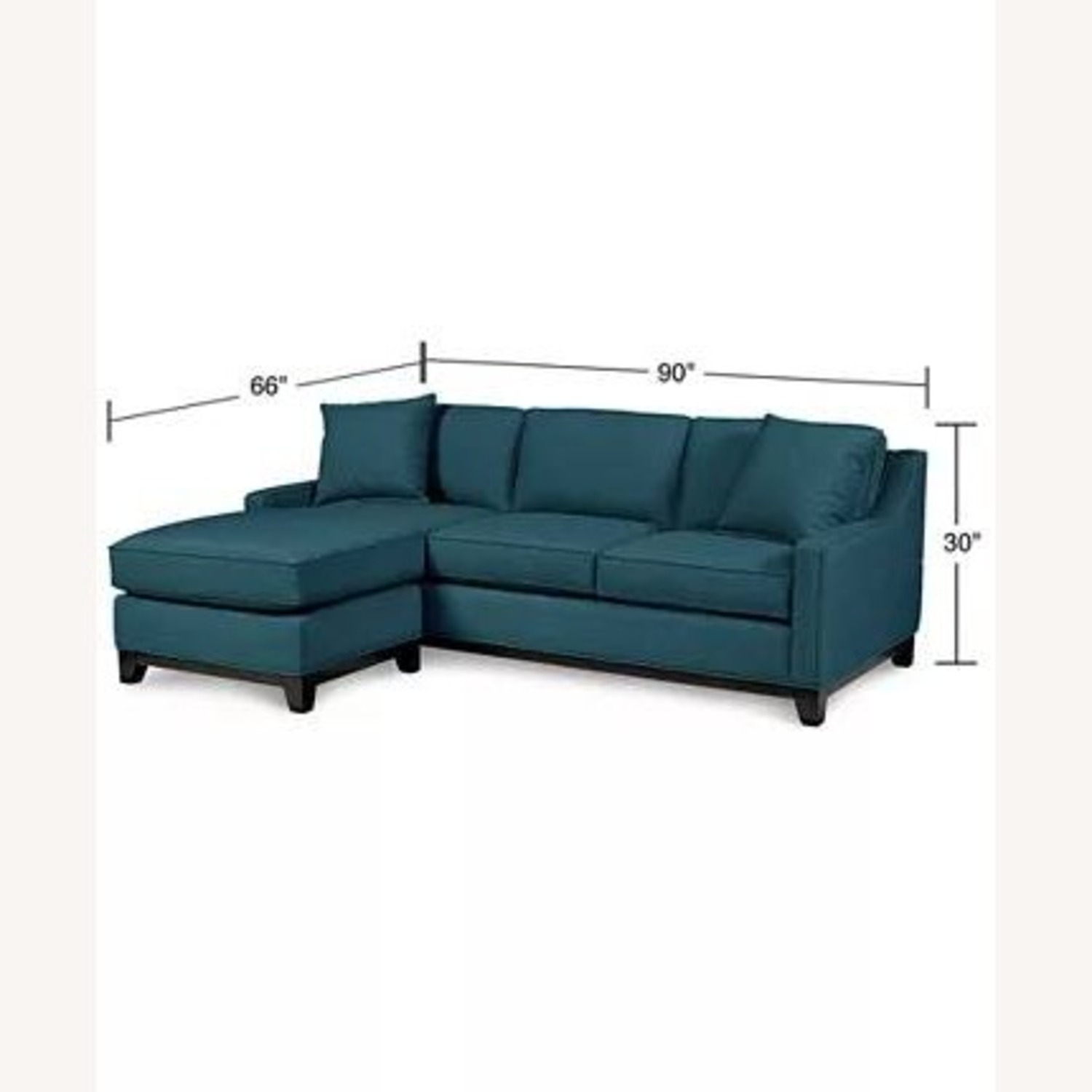 "Macy's Keegan 90"" 2-Piece Reversible Chaise Sectional - image-3"
