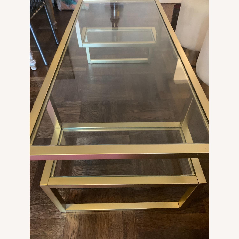 Wayfair Negrete Gold Brass Coffee Table - image-2