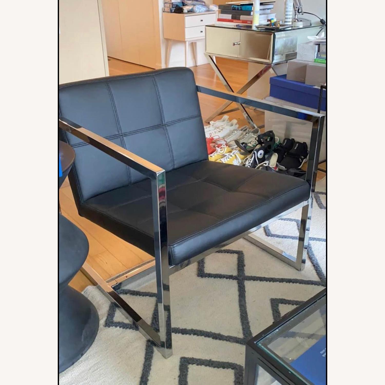 Mod Black Arm Chair - image-1