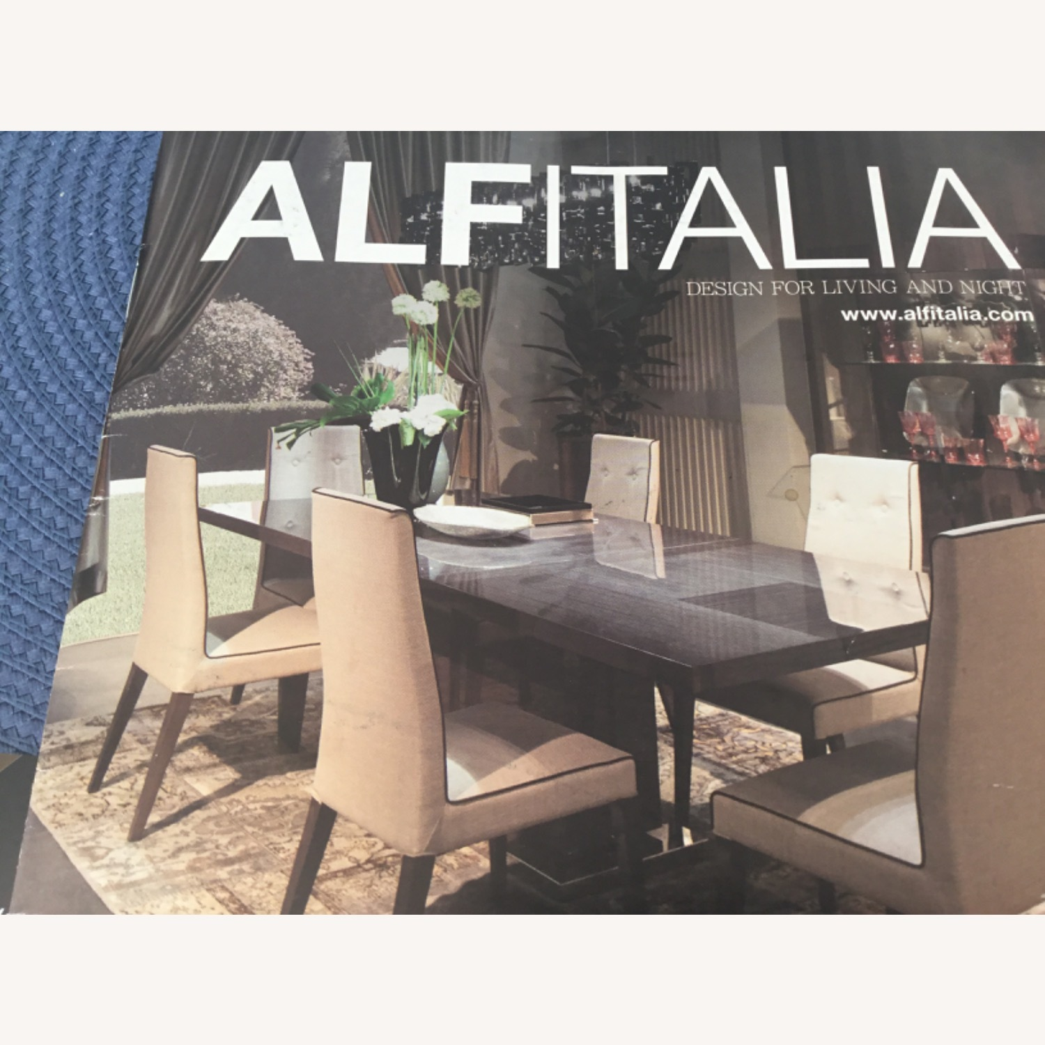 Dining Room Set - 6 leather chairs - image-7