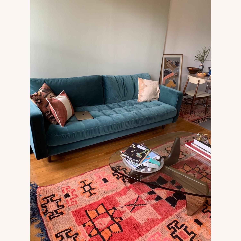 Article Sven Sofa in Pacific Blue Velvet - image-1