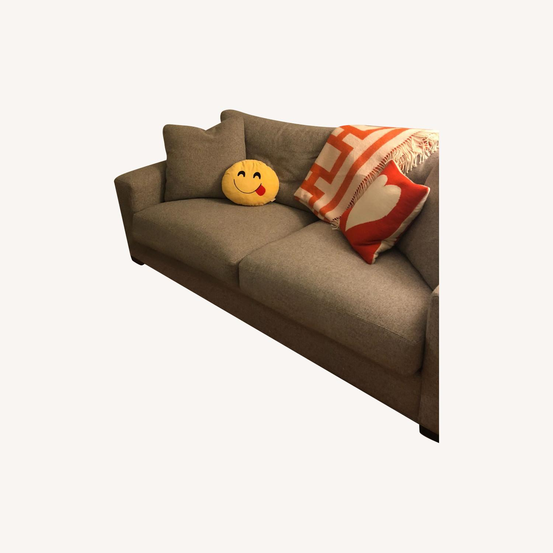 Room and Board Tatum Grey Metro Sofa - image-0