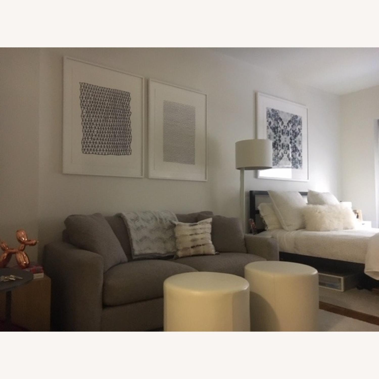 Room and Board Tatum Grey Metro Sofa - image-2