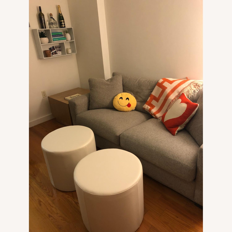 Room and Board Tatum Grey Metro Sofa - image-1