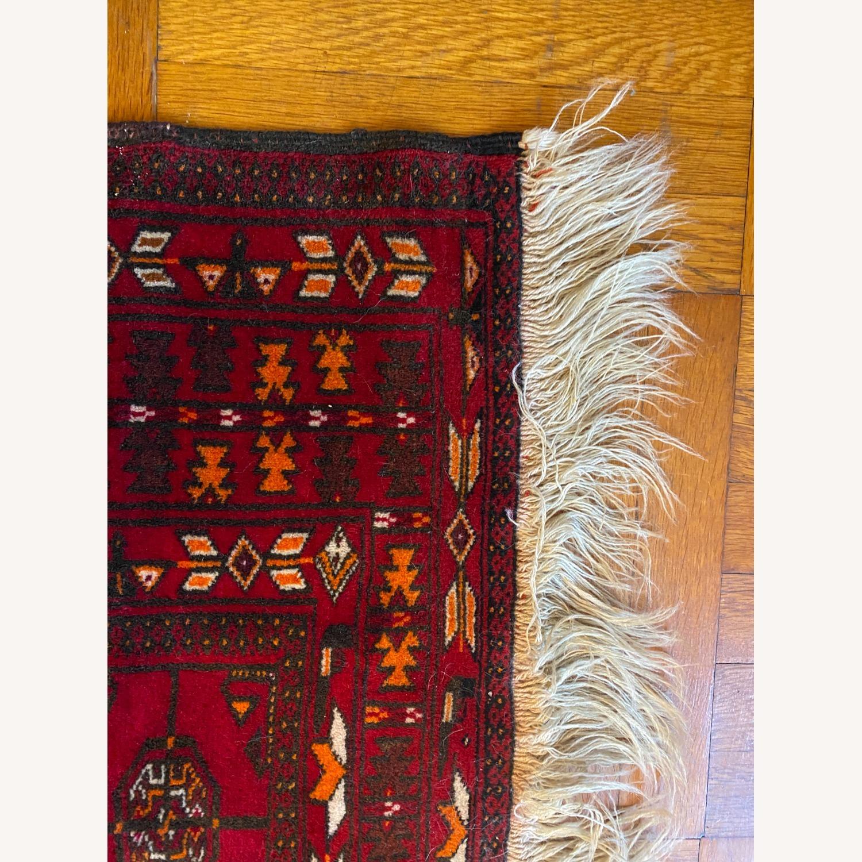 Vintage Afghani Rug sewn during Soviet-Afghan War - image-3