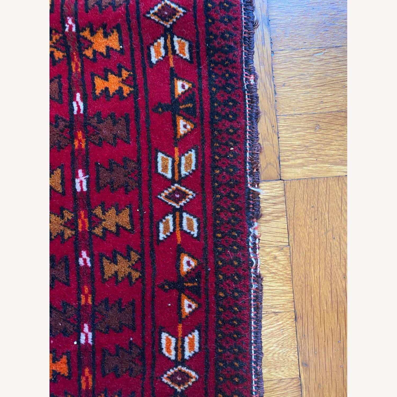 Vintage Afghani Rug sewn during Soviet-Afghan War - image-1