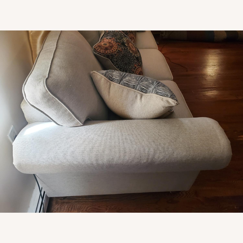 Raymour & Flanigan 3-Seater Beige Sofa - image-3