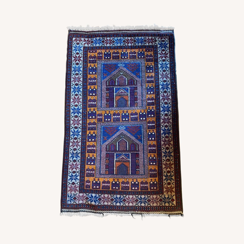 Afghan Small Rug - image-0