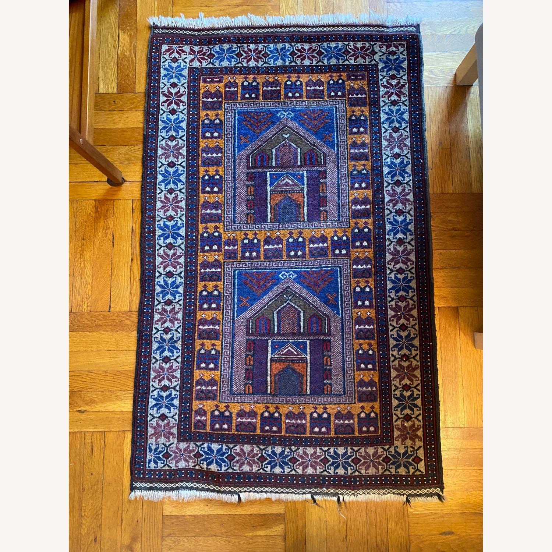 Afghan Small Rug - image-1