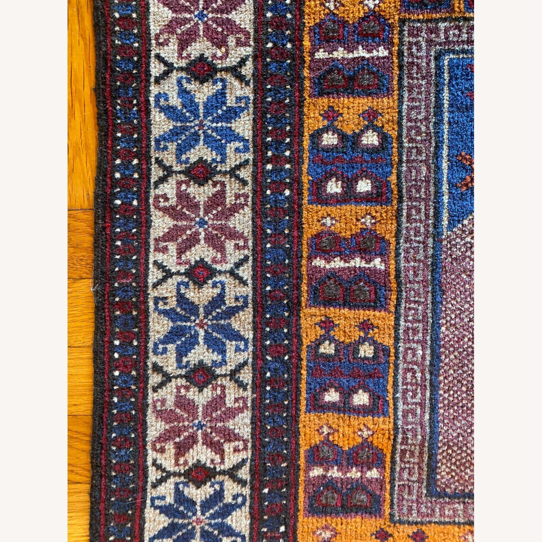 Afghan Small Rug - image-5