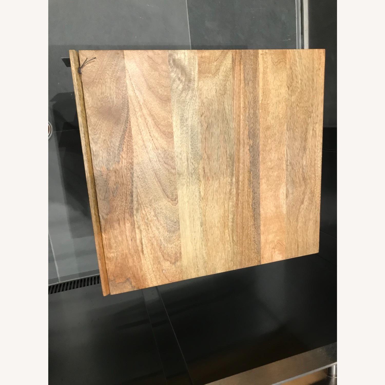 West Elm Industrial Storage Side Table, Raw Mango - image-6