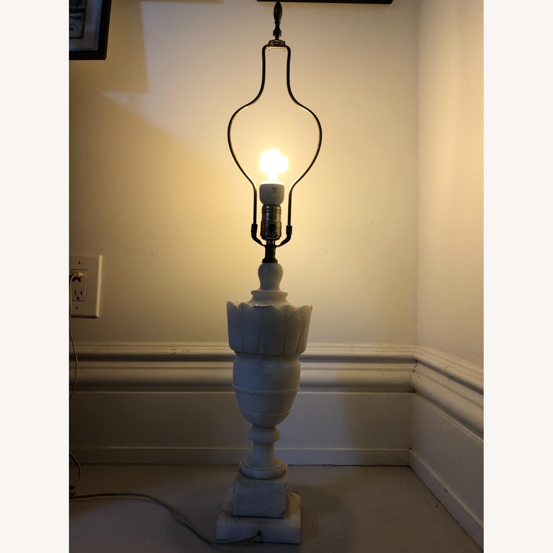 Vintage Alabaster Urn Lamp - image-2