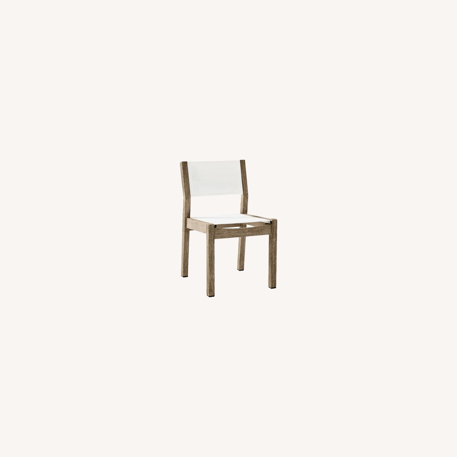 West Elm Portside Outdoor Textilene Dining Chair - image-0