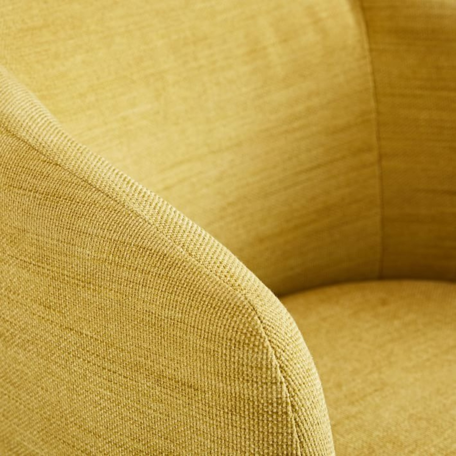 West Elm Crescent Swivel Chair - image-2