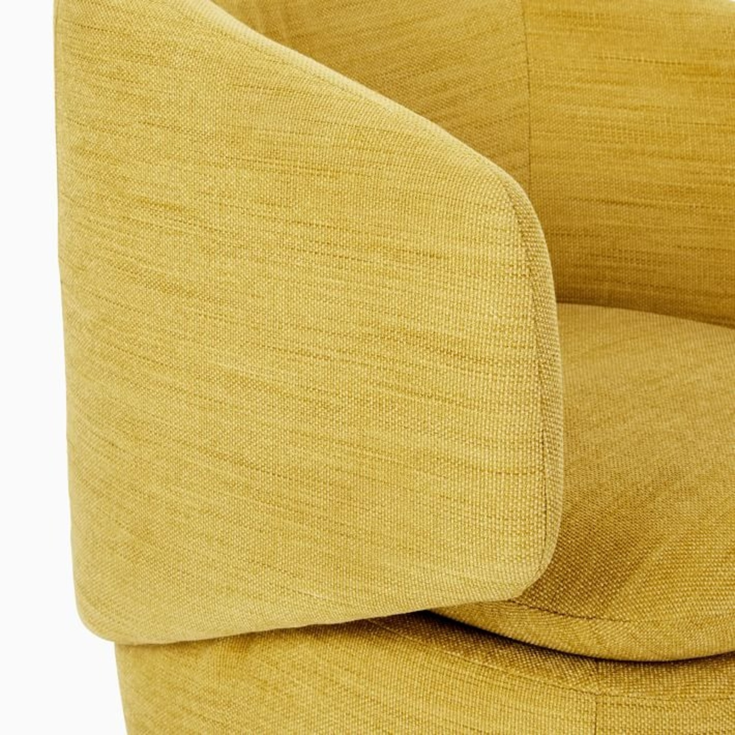 West Elm Crescent Swivel Chair - image-1