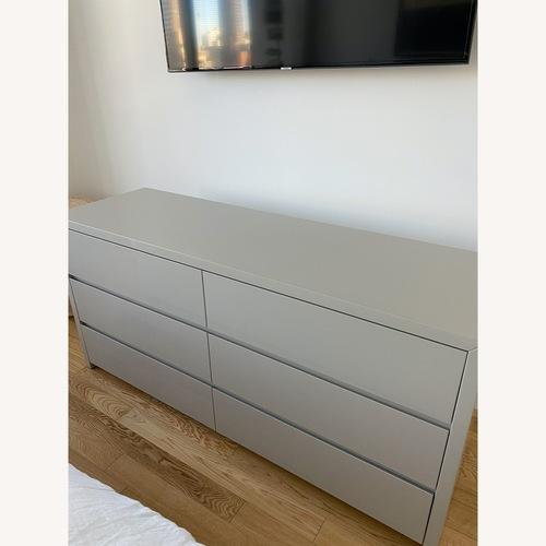 Used ABC Carpet and Home Fresco Double Dresser Stone for sale on AptDeco