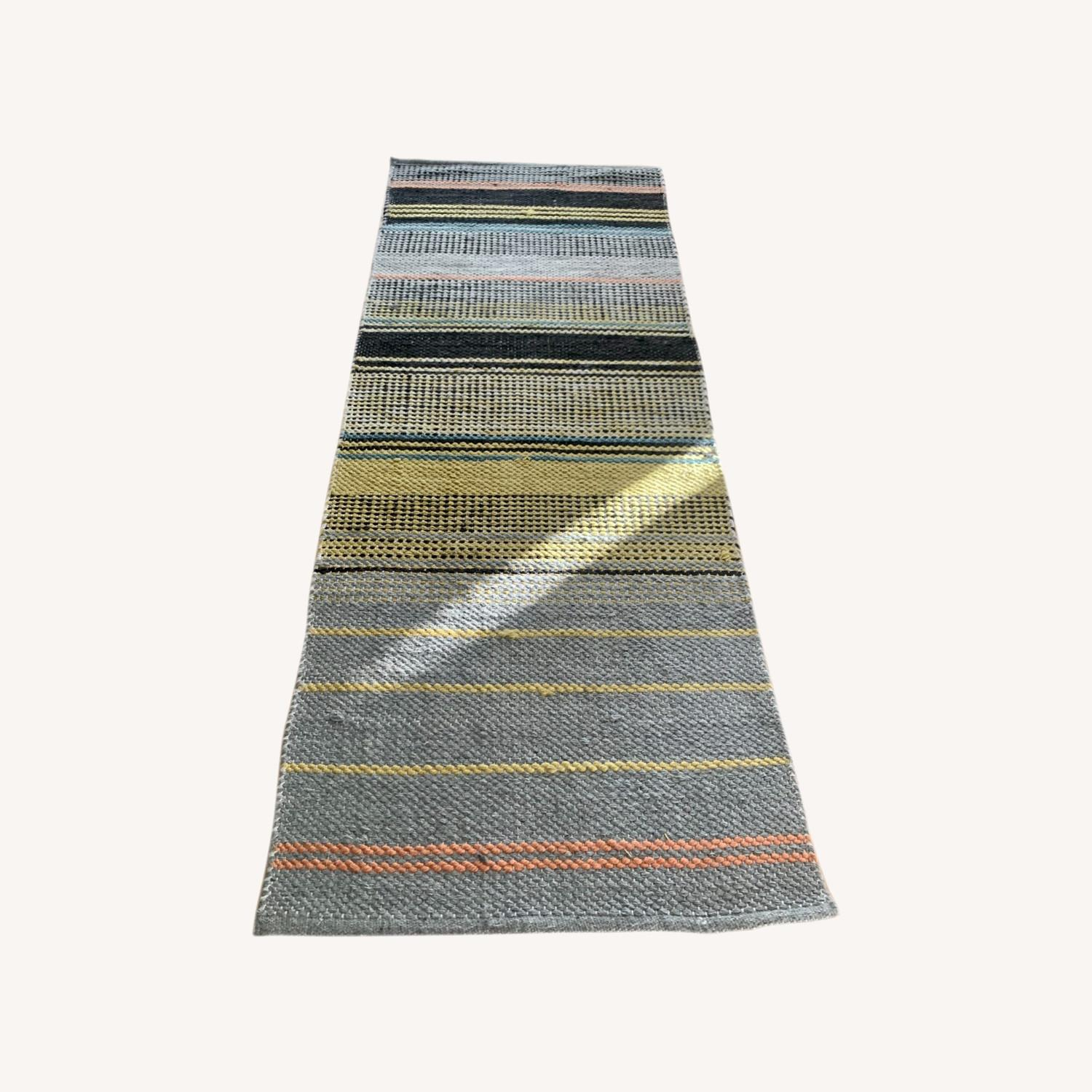 West Elm Ombre Pop In/Out Rug 2.5x7 (set of 3) - image-0