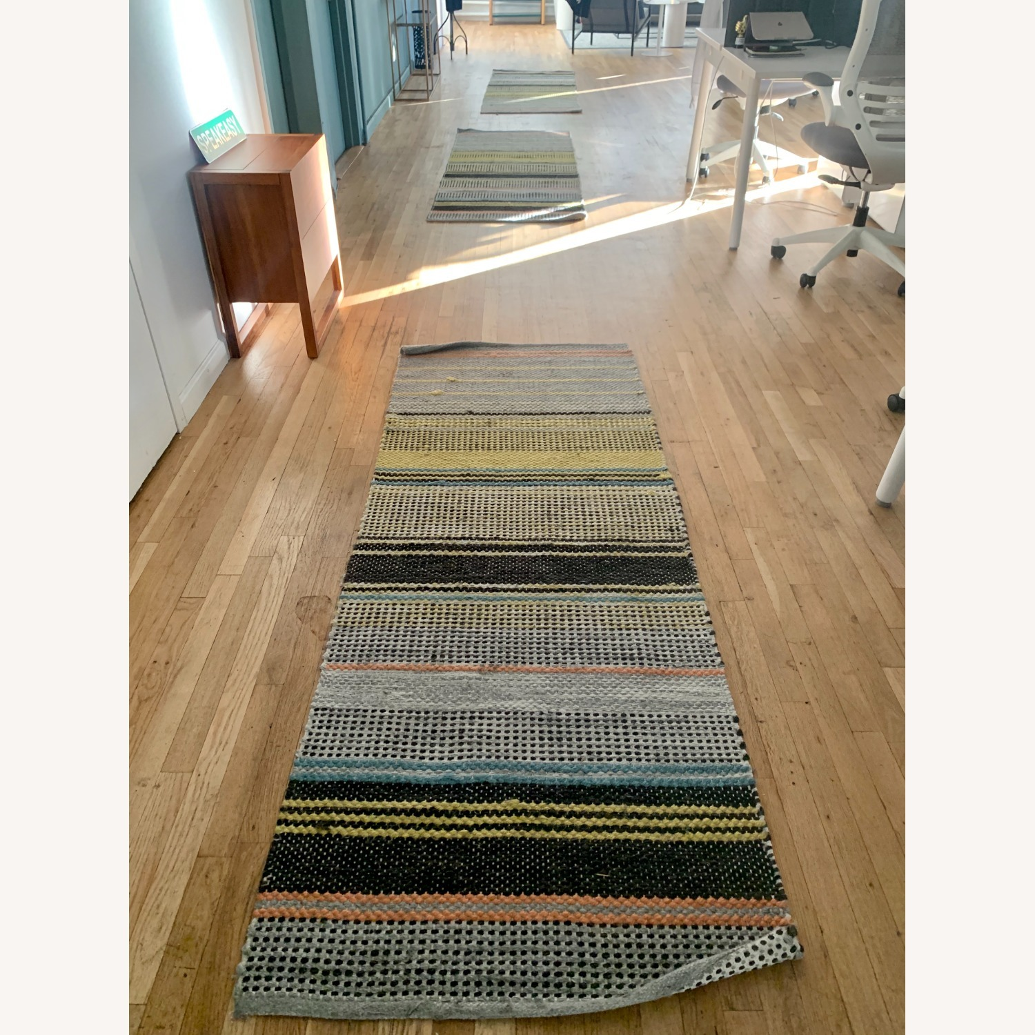 West Elm Ombre Pop In/Out Rug 2.5x7 (set of 3) - image-1