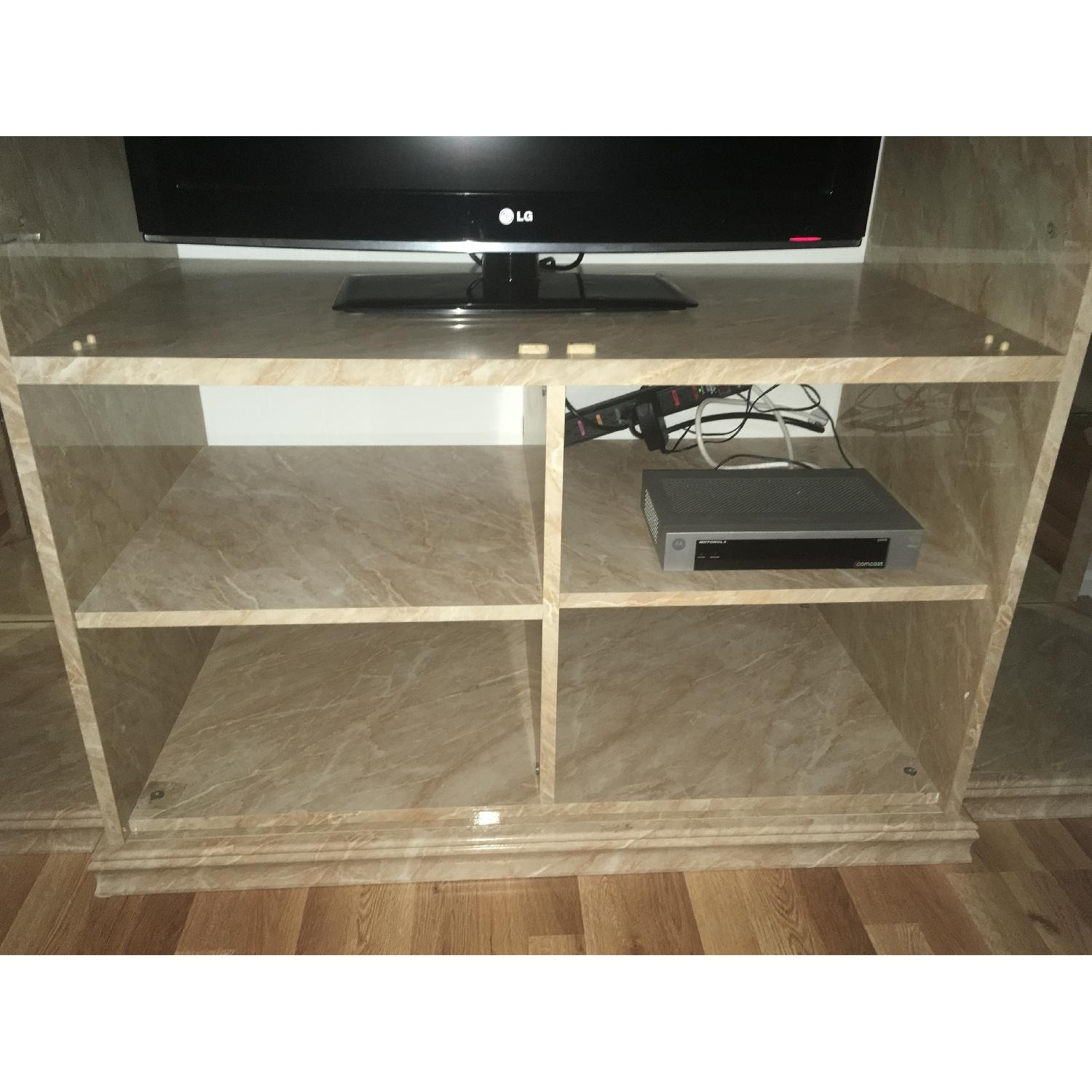 Marble & Glass Wall Unit - image-4