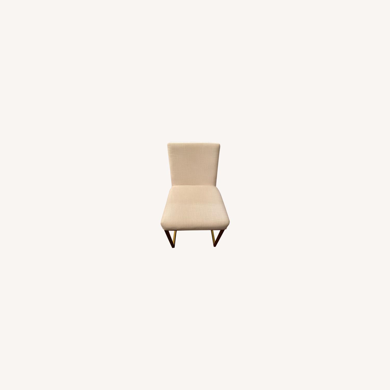 Restoration Hardware Emery Fabric Side Chairs - image-0