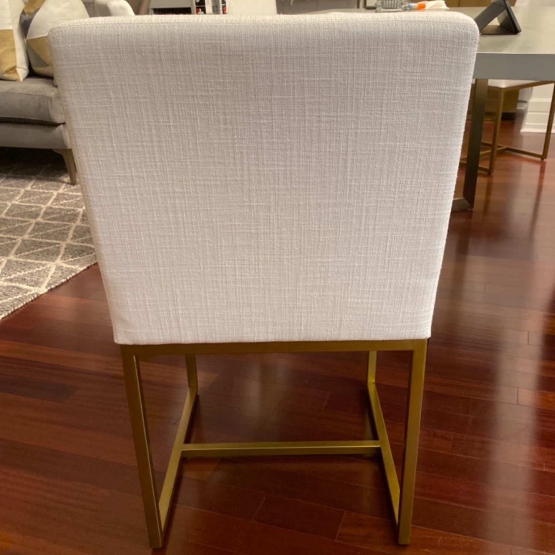Restoration Hardware Emery Fabric Side Chairs - image-5
