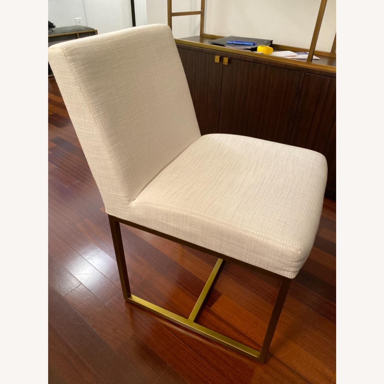 Restoration Hardware Emery Fabric Side Chairs - image-3