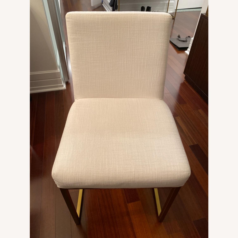 Restoration Hardware Emery Fabric Side Chairs - image-1