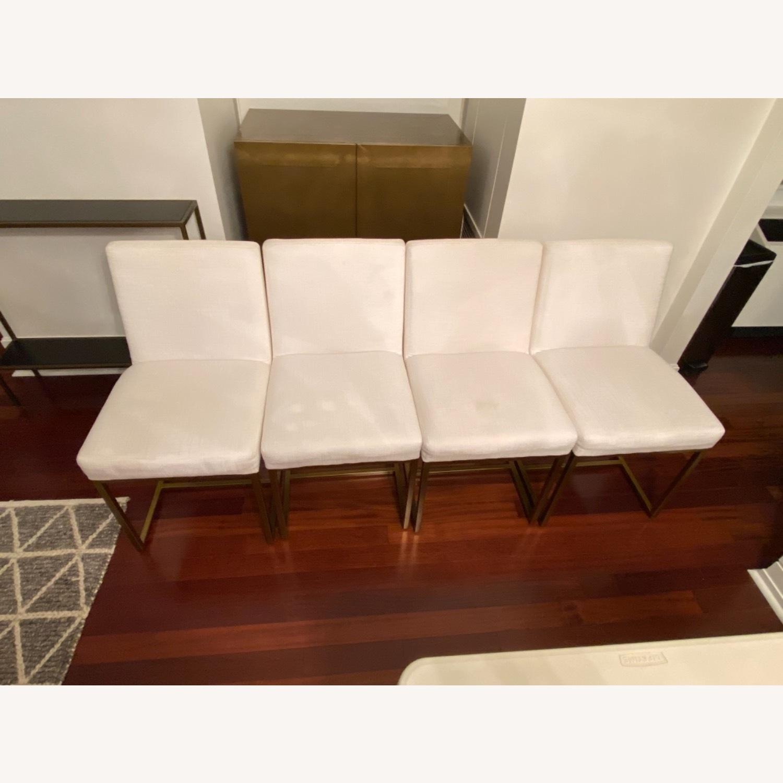 Restoration Hardware Emery Fabric Side Chairs - image-7