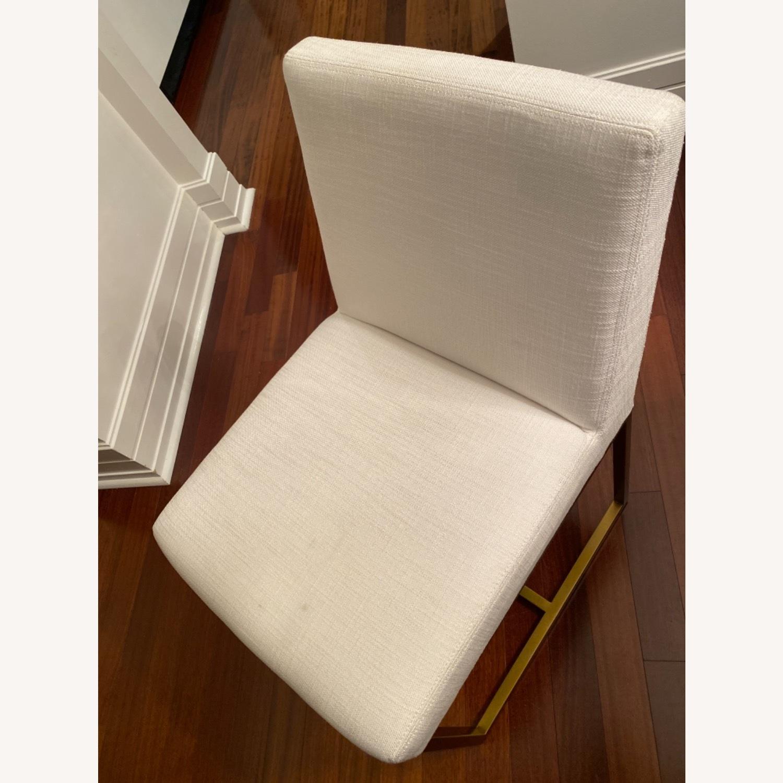 Restoration Hardware Emery Fabric Side Chairs - image-4