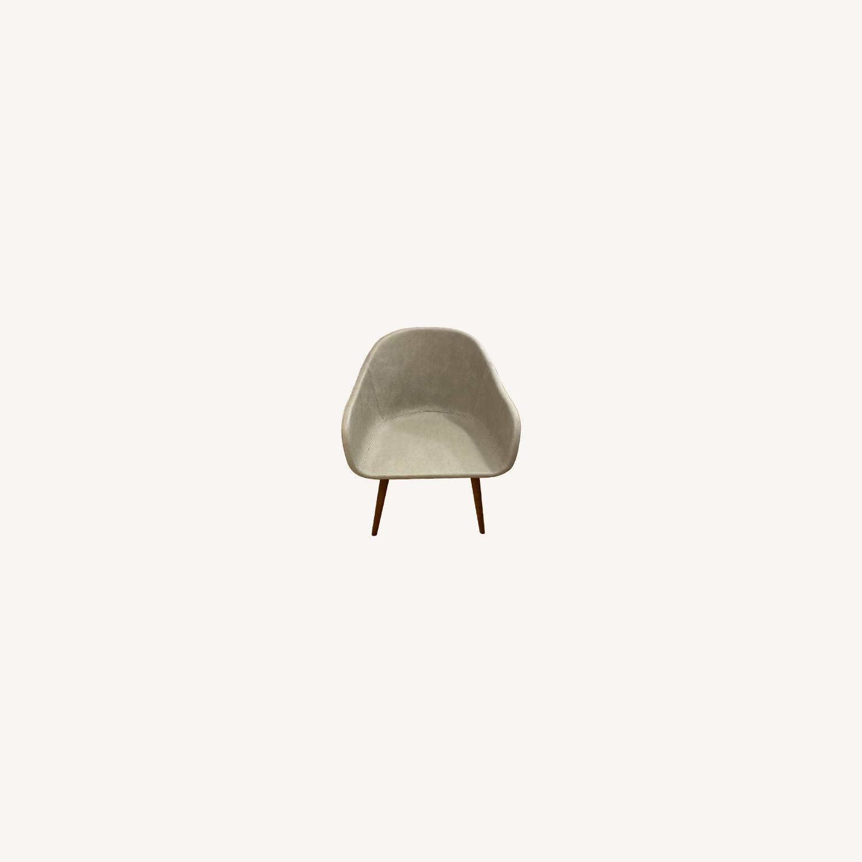 CB2 Venice Studio Grey Task /Office Chair - image-0