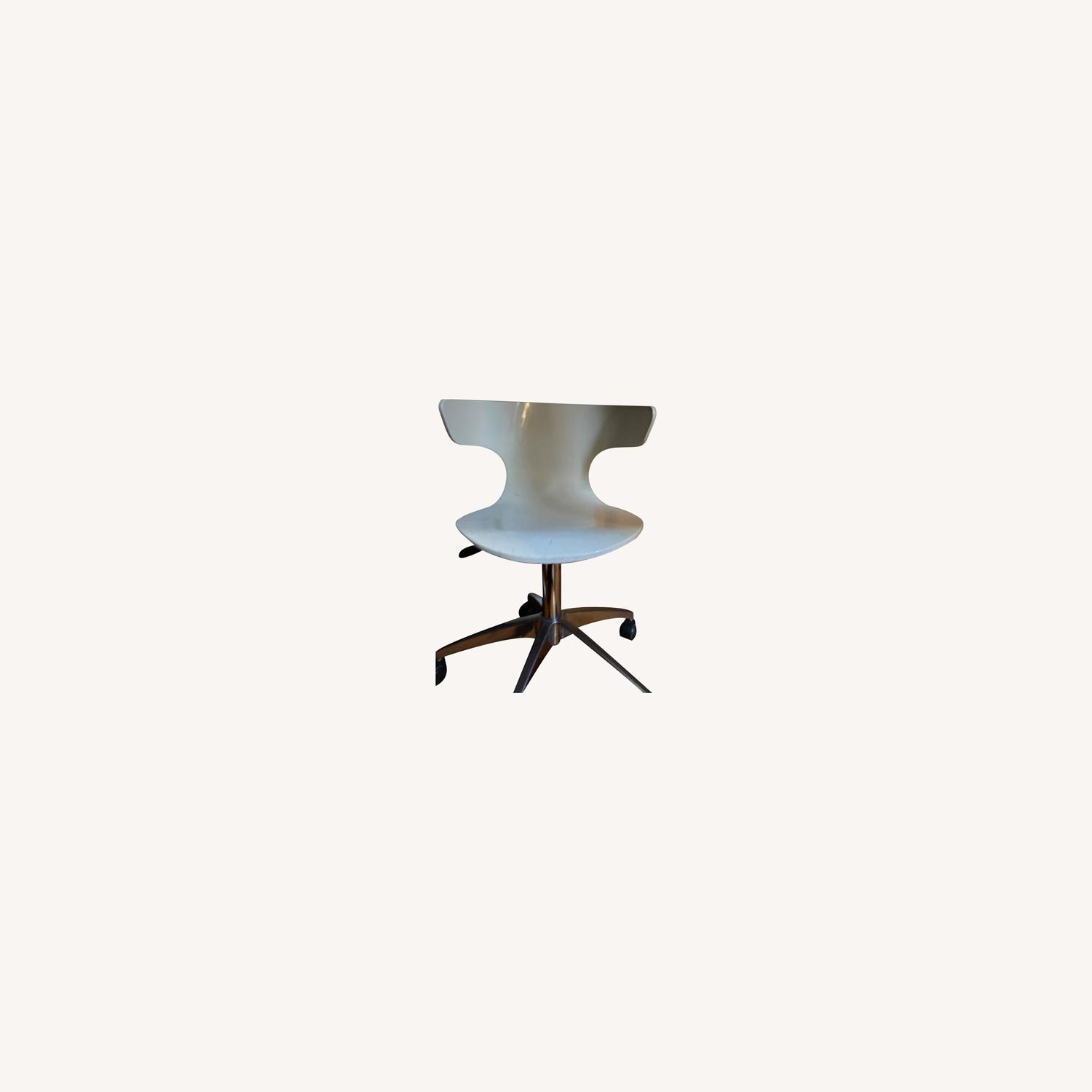 White Office Chair - image-0