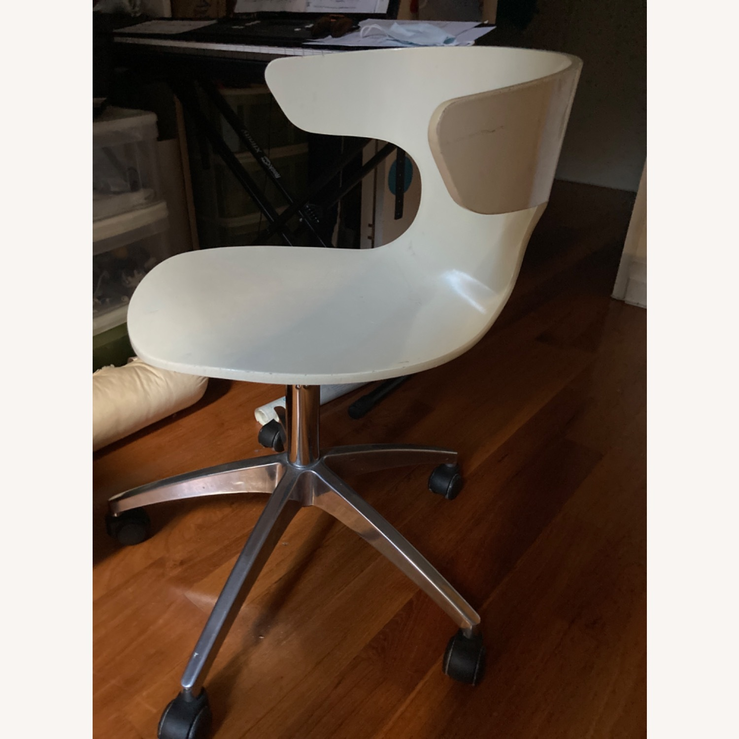 White Office Chair - image-1