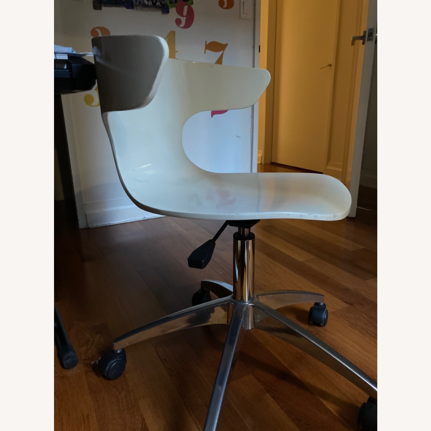 White Office Chair - image-3