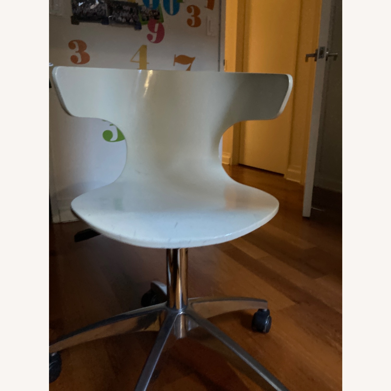 White Office Chair - image-2