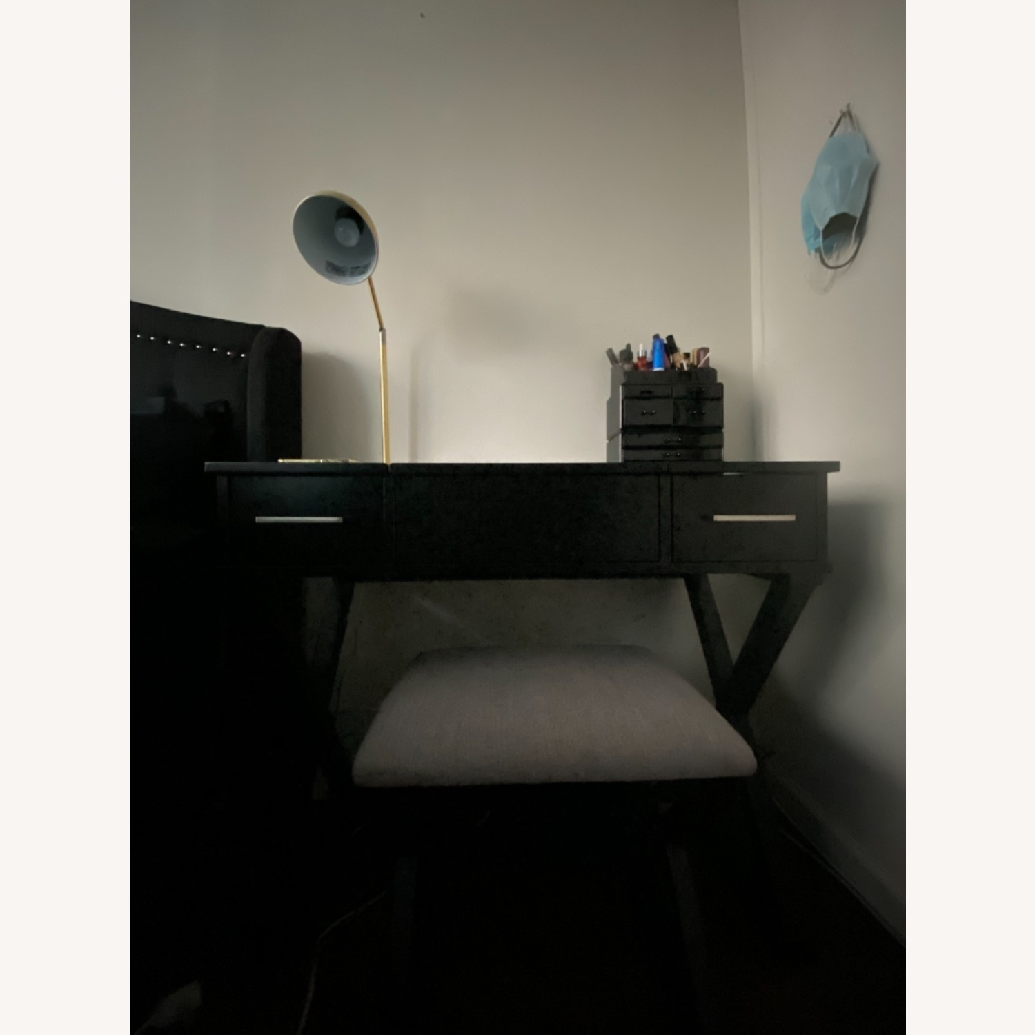 Vanity Desk w/Stool - image-5
