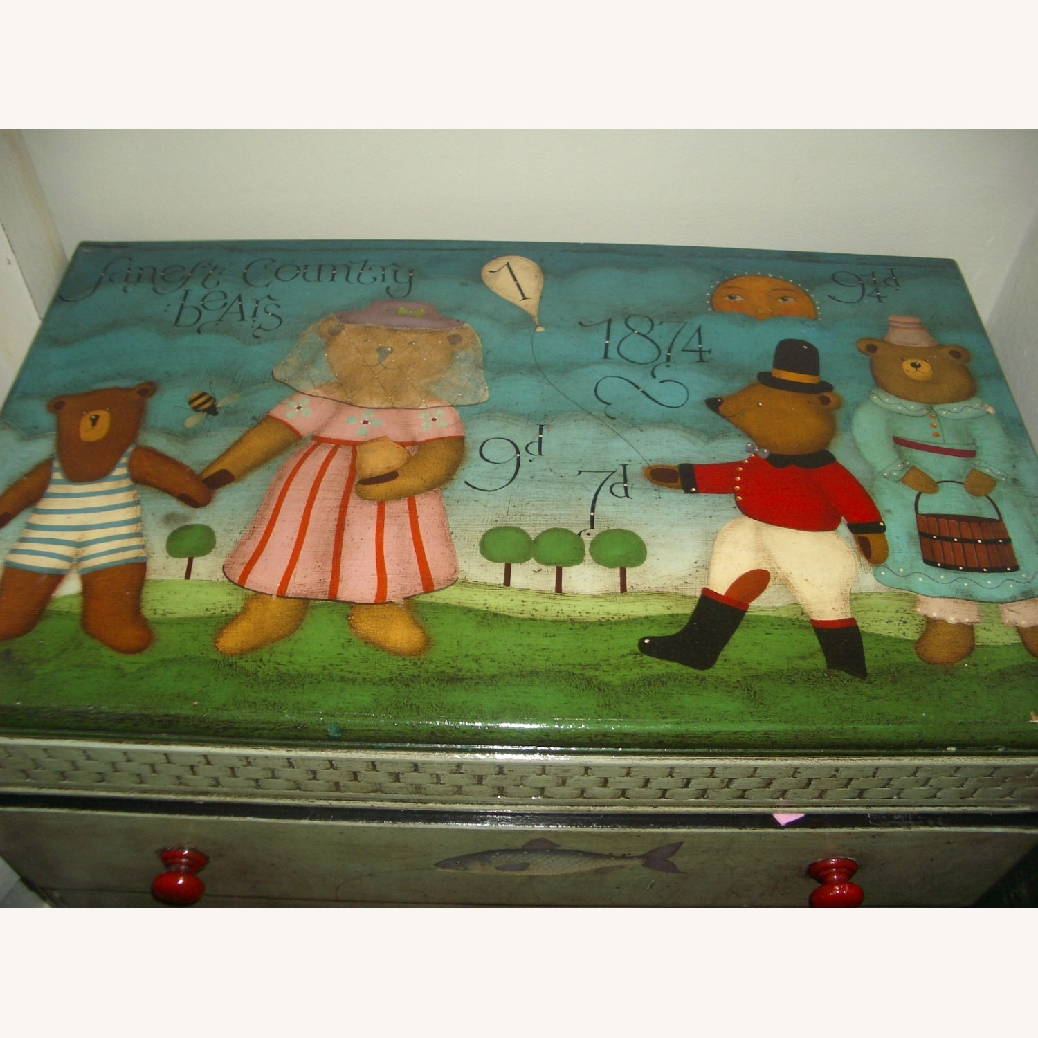 ABC Carpet One-of-a-Kind Hand Painted Dresser - image-2