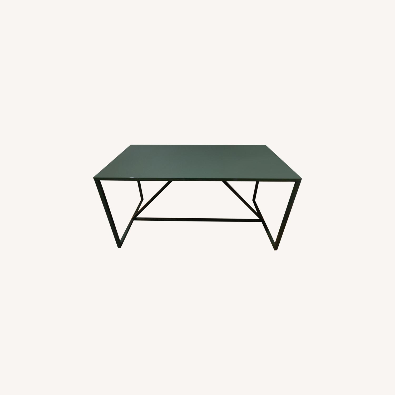 Green Metal Desk - image-0