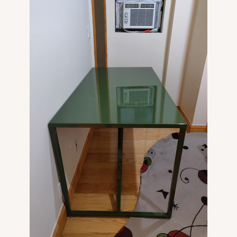 Green Metal Desk - image-3