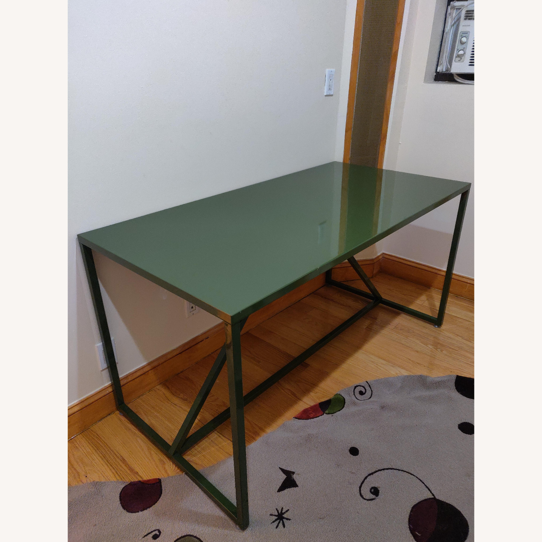 Green Metal Desk - image-2