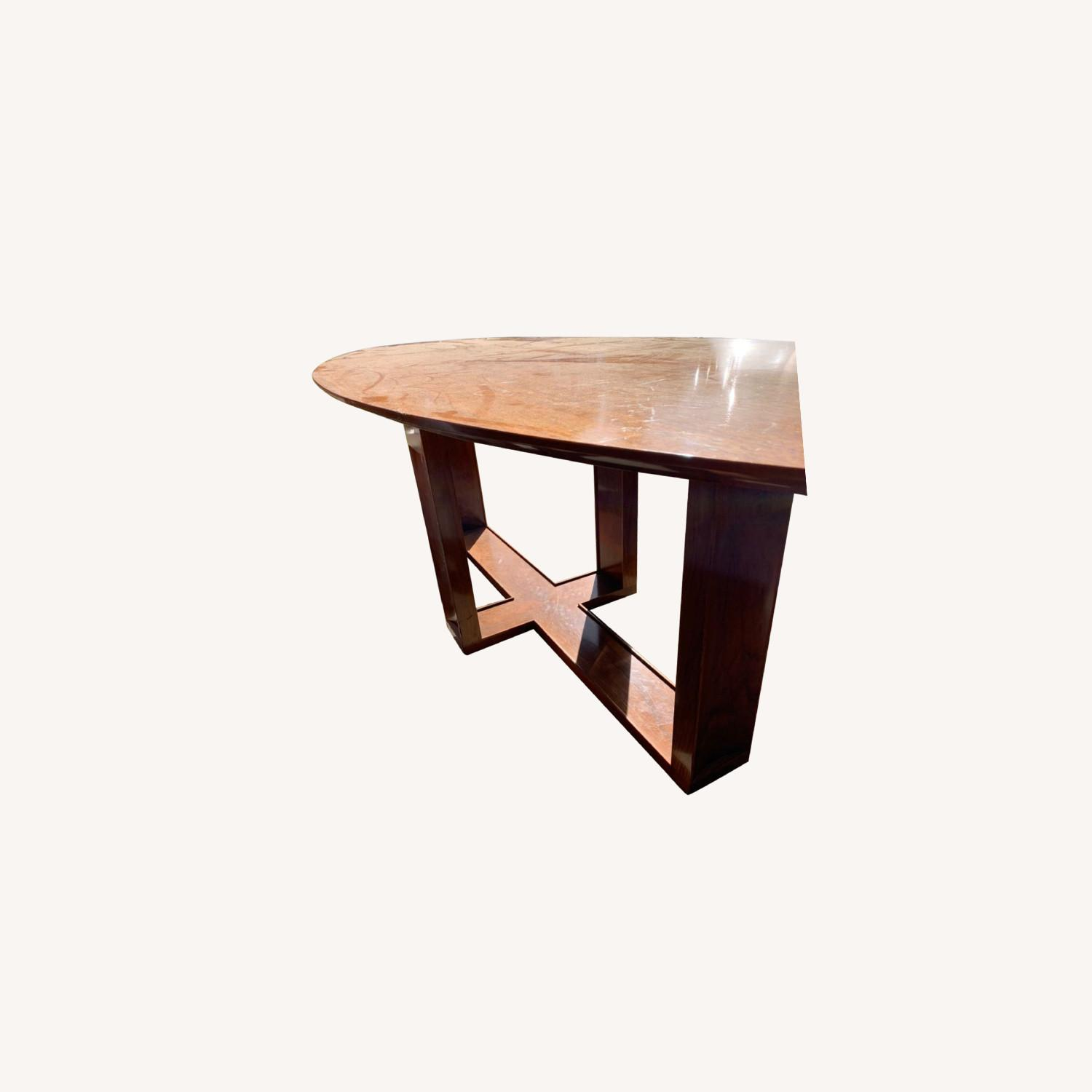 Custom Solid Wood Dining Table - image-0