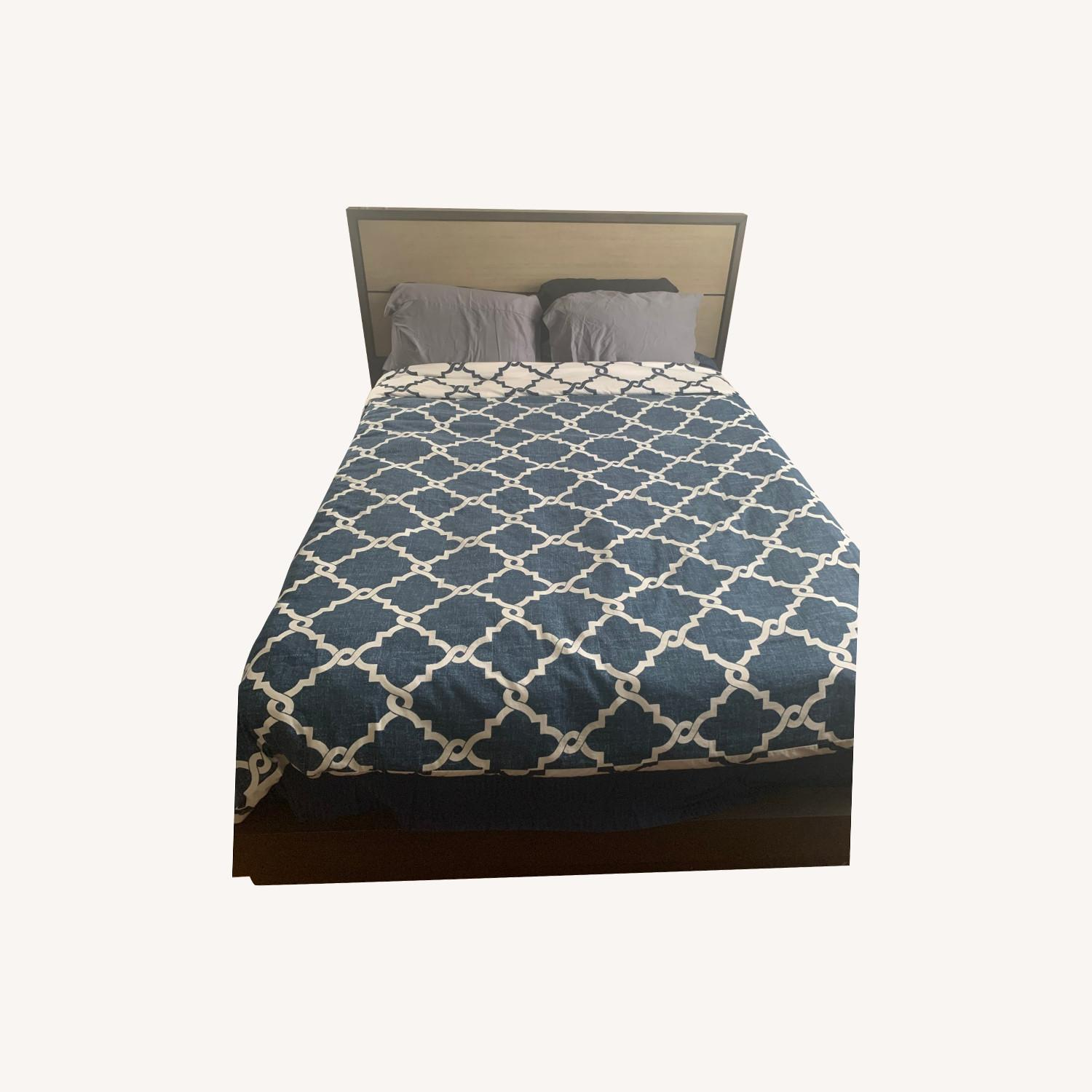 Macy's Queen Size Tribeca Bed Frame - image-0