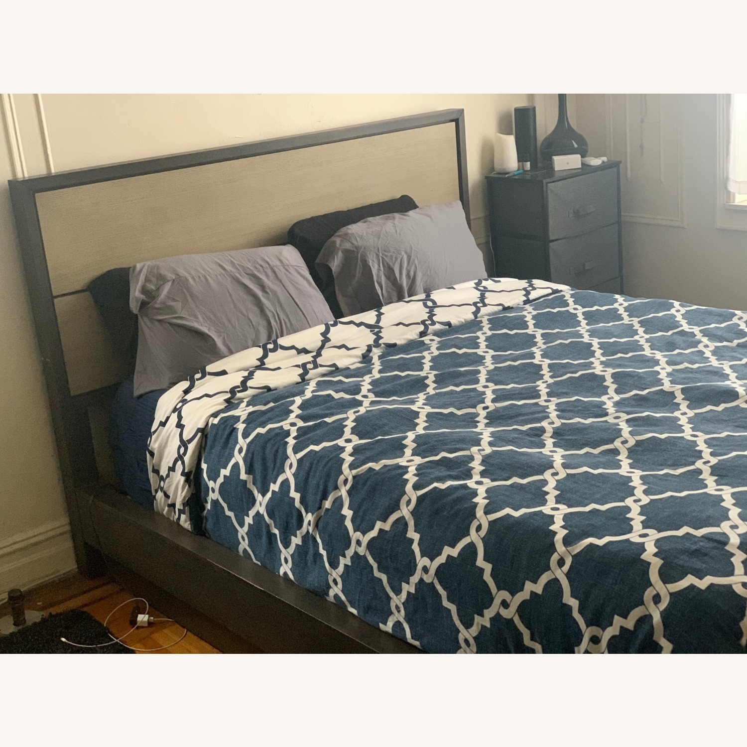 Macy's Queen Size Tribeca Bed Frame - image-2