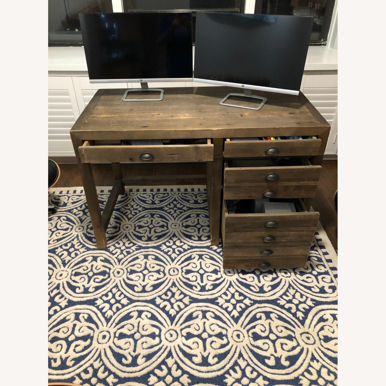 Restoration Hardware Printmaker Desk - image-2